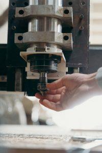 CNC מכונה