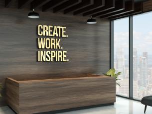 חיתוך אותיות למיתוג המשרד – כך השילוט ישרת את המוניטין של בית העסק